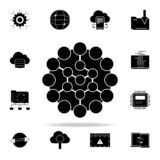 global connection icon. Web Development icons universal set for web and mobile vector illustration