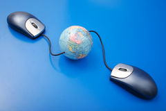 Global connection Stock Photography