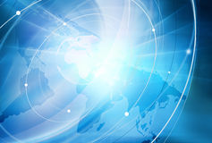 Global Connectivity Background Royalty Free Stock Photo