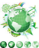 Global Conservation Concept. Raster version of vector illustration + EPS additional format vector illustration