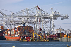 Global Container Port Stock Photos