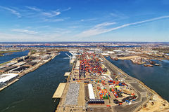 Free Global Container Terminals In Bayonne Royalty Free Stock Photos - 70649208