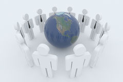 Global cooperation Stock Photos