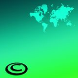 Global Copyright Stock Photo