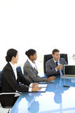 Global corporate meeting Royalty Free Stock Photo