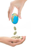 Global credit crunch Stock Photos
