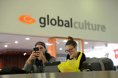 Global Culture says it all Stock Image