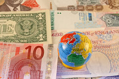 Global Currencies Stock Photos