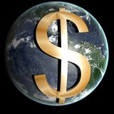 Global currency Stock Image