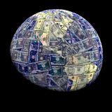 Global currency dollars Stock Photo