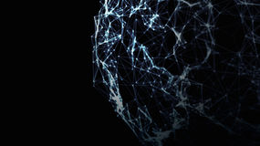 Global 3d Network Royalty Free Stock Images