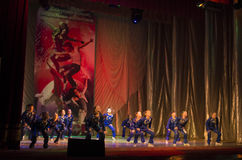 Global Dance competitions in choreography, Minsk, Belarus. Royalty Free Stock Image