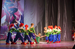 Global Dance competitions in choreography, Minsk, Belarus. Royalty Free Stock Images