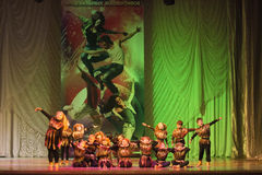 Global Dance competitions in choreography, Minsk, Belarus. Royalty Free Stock Photos