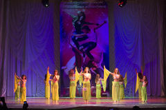 Global Dance competitions in choreography, Minsk, Belarus. Stock Photos