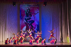 Global Dance competitions in choreography, Minsk, Belarus. Stock Photography