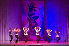 Global Dance competitions in choreography, Minsk, Belarus. Stock Image