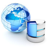 Global data repository Royalty Free Stock Photography