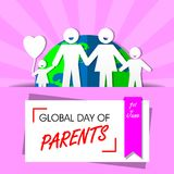Global Day of Parents stock illustration