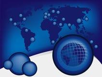 Global design background Stock Image
