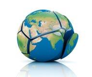 Global Destruction Royalty Free Stock Photography