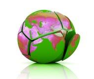 Global Destruction Stock Image