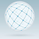 Global digital connections, network Stock Photos