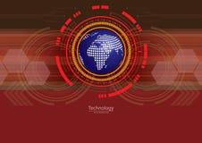 Global Digital för teknologi bakgrund Arkivfoton