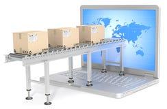 Global Distribution. Stock Images