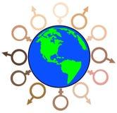 Global diversity Stock Photos