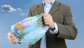 Global domination Royalty Free Stock Photo
