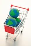 Global e-commerce stock image
