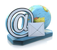 Global e-mail royalty free stock image