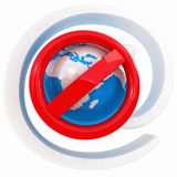 Global e-mail protection Royalty Free Stock Photos