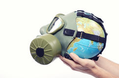Global Earth pollution Royalty Free Stock Photo