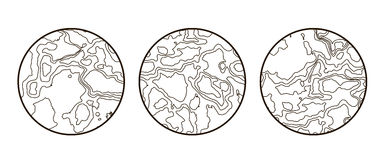 Global Earth vector icon  on white Stock Photos