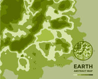 Global Earth vector Map on background. Texture Stock Image