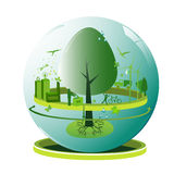 Global ecology concept Stock Images