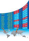 Global economic crisis Stock Photo
