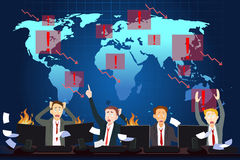 Global Economic Crisis Concept Royalty Free Stock Photography