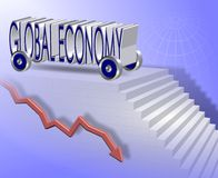 Global economy Royalty Free Stock Images