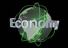Global economy Stock Image