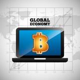 Global economy design. Global ecomomy design,  illustration eps10 graphic Royalty Free Stock Images