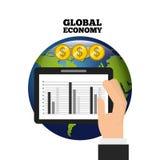 Global economy design. Global ecomomy design,  illustration eps10 graphic Stock Photo