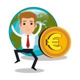 Global economy  design. Illustration eps10 graphic Stock Photography