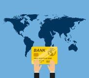 Global economy design. Illustration eps10 graphic Royalty Free Stock Images