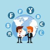 Global economy design Stock Photo