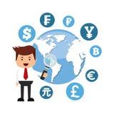 Global economy design. Illustration eps10 graphic Stock Photos