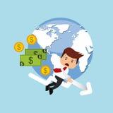 Global economy design. Illustration eps10 graphic Royalty Free Stock Image