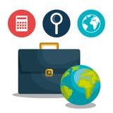 Global economy design Stock Images